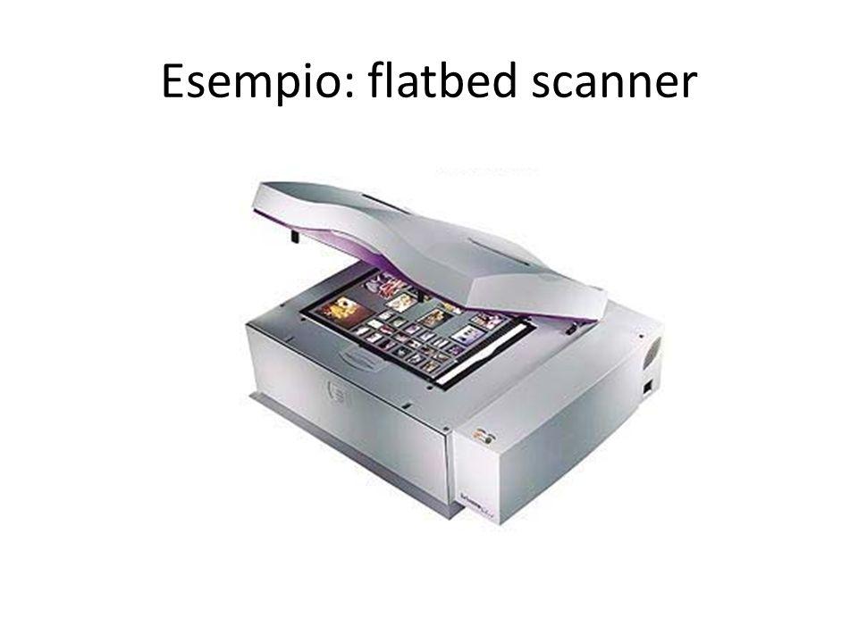 Esempio: flatbed scanner