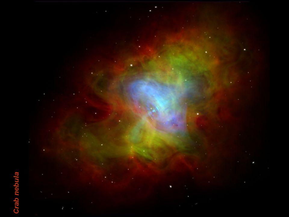 E. Pace - Rivelatori per lo spazio9 Crab nebula