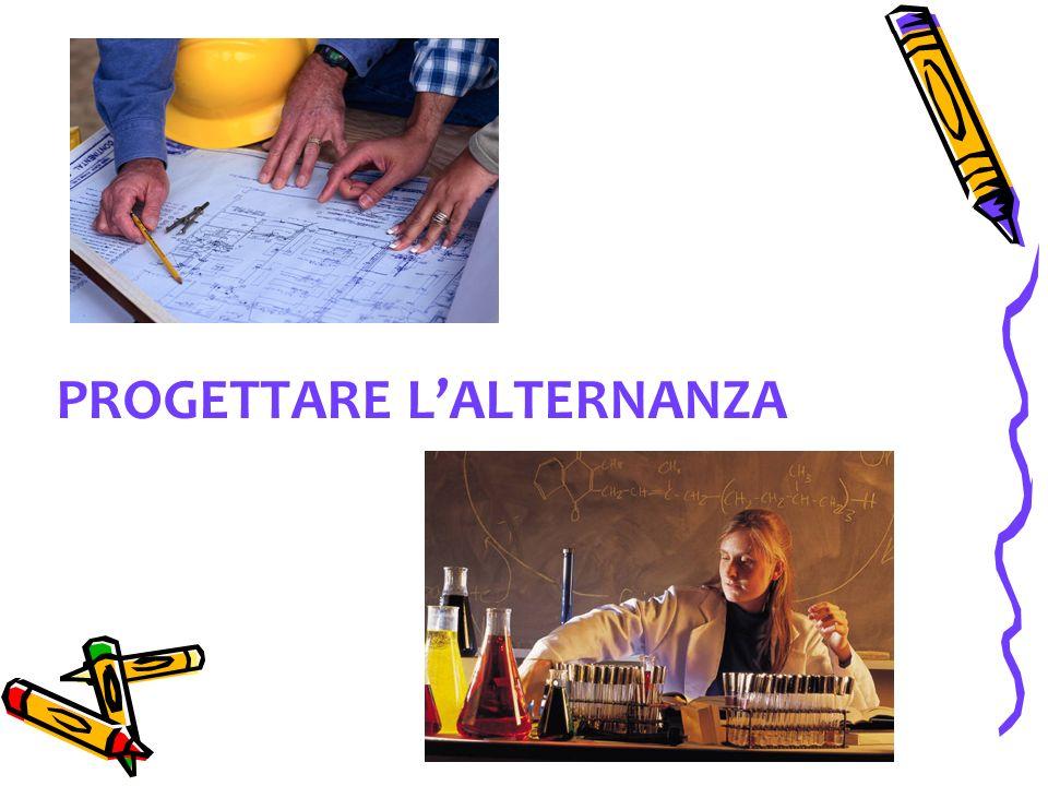 PROGETTARE LALTERNANZA