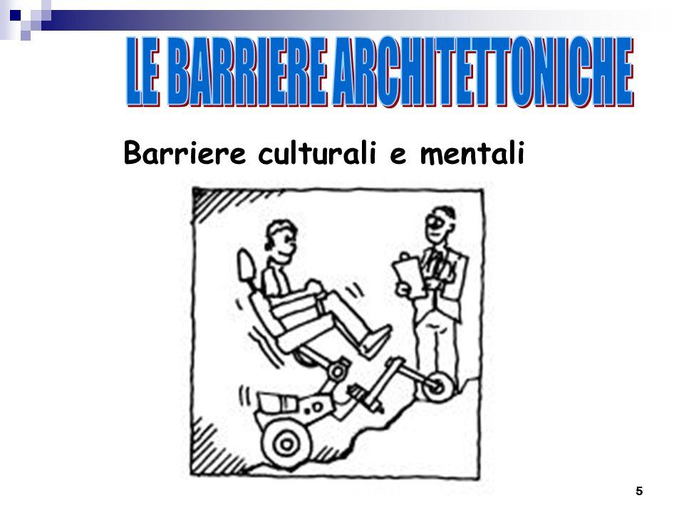 5 Barriere culturali e mentali