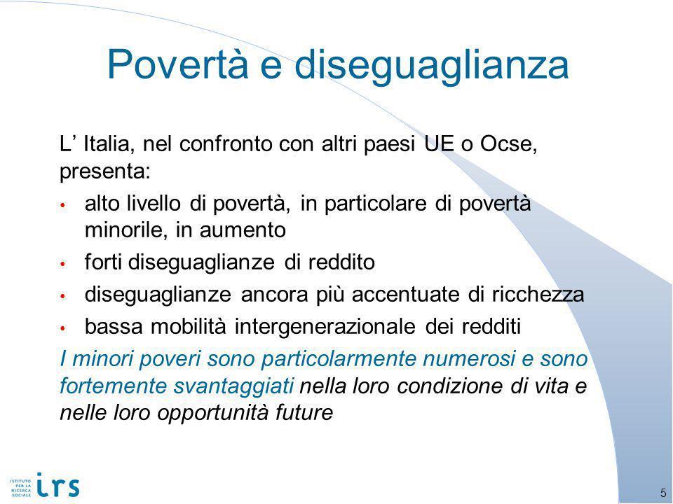 Povertà e politiche di contrasto in Italia 16