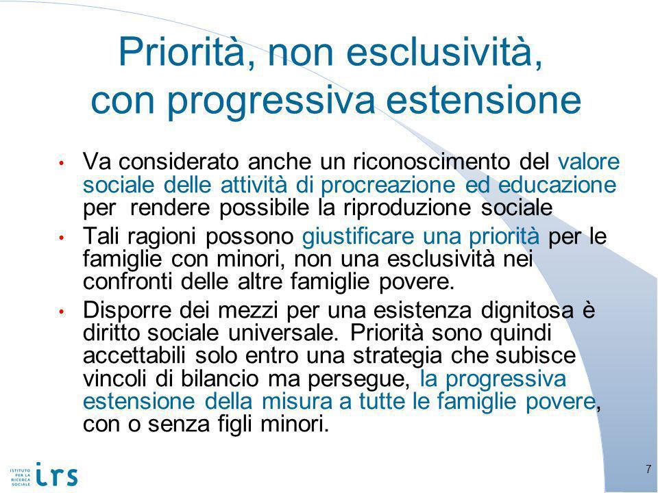 Italia ed Europa: contro la povertà, quante risorse, con quale efficacia?