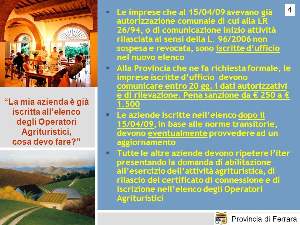 Essere imprenditore agricolo ai sensi dell art.2135 del Cod.