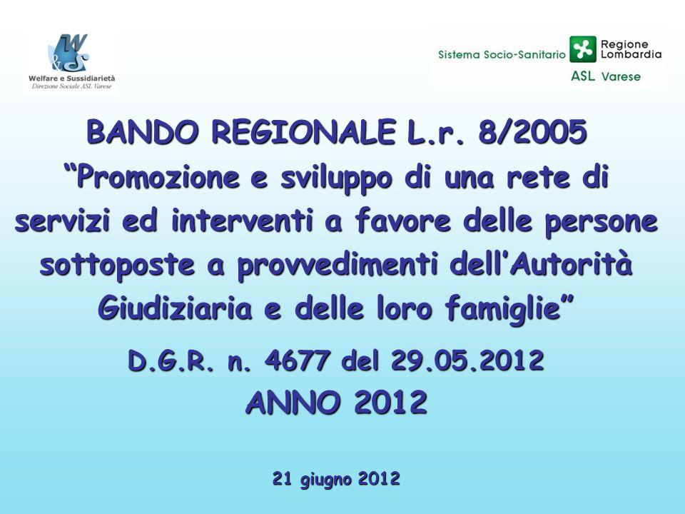 BANDO REGIONALE L.r.