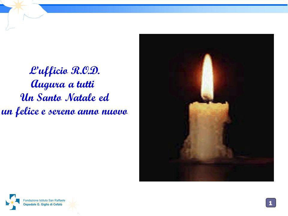 1010 Lufficio R.O.D. Augura a tutti Un Santo Natale ed un felice e sereno anno nuovo