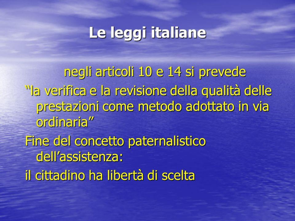 Focarile (1998) QUALITA 1.Efficienza 2. Sicurezza 3.