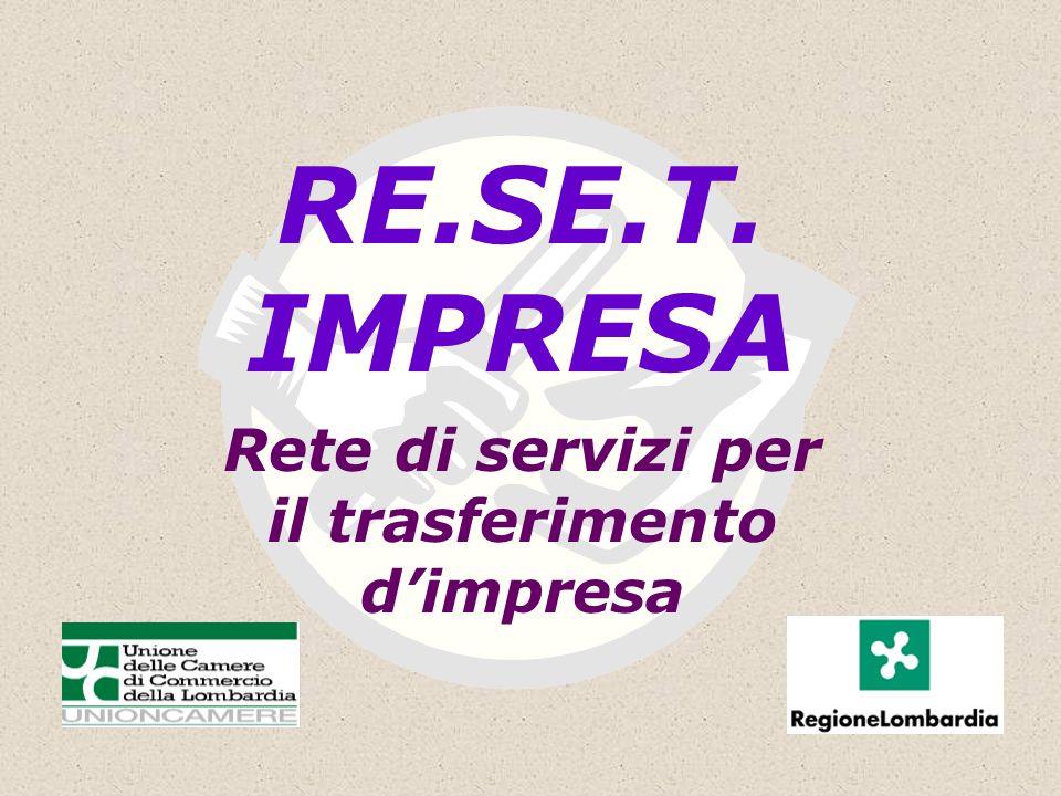 RE.SE.T. IMPRESA Rete di servizi per il trasferimento dimpresa