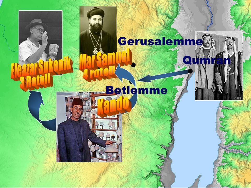 Qumran Gerusalemme Betlemme