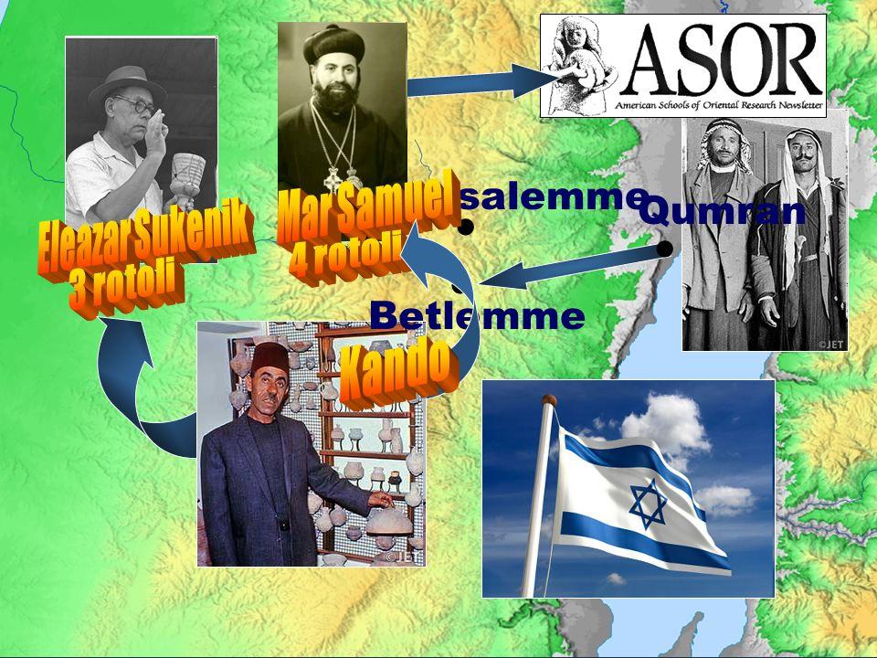 Qumran Jerusalemme Betlemme