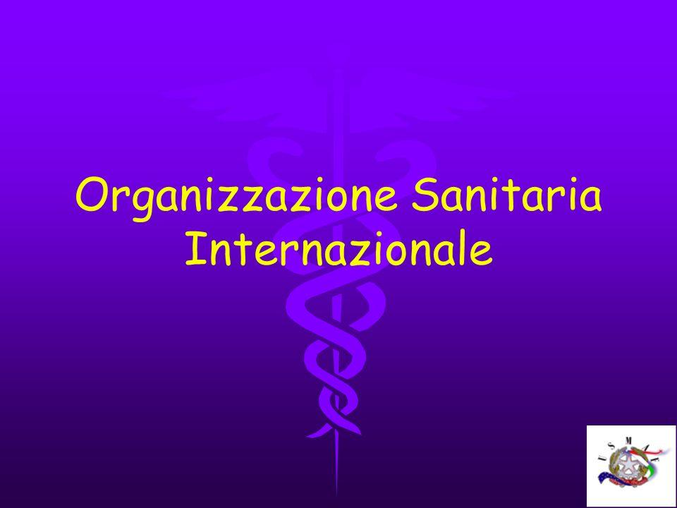 Organizzazione Sanitaria Internazionale