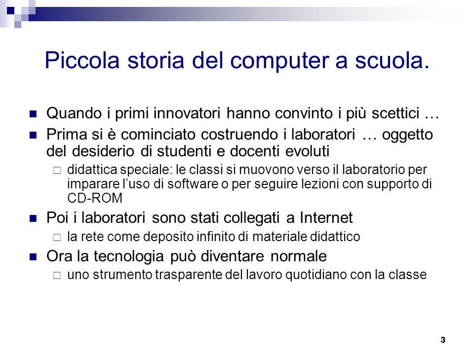 4 Ma non è stata una storia facile.Che cosa tiene lontani molti insegnanti dalle tecnologie.