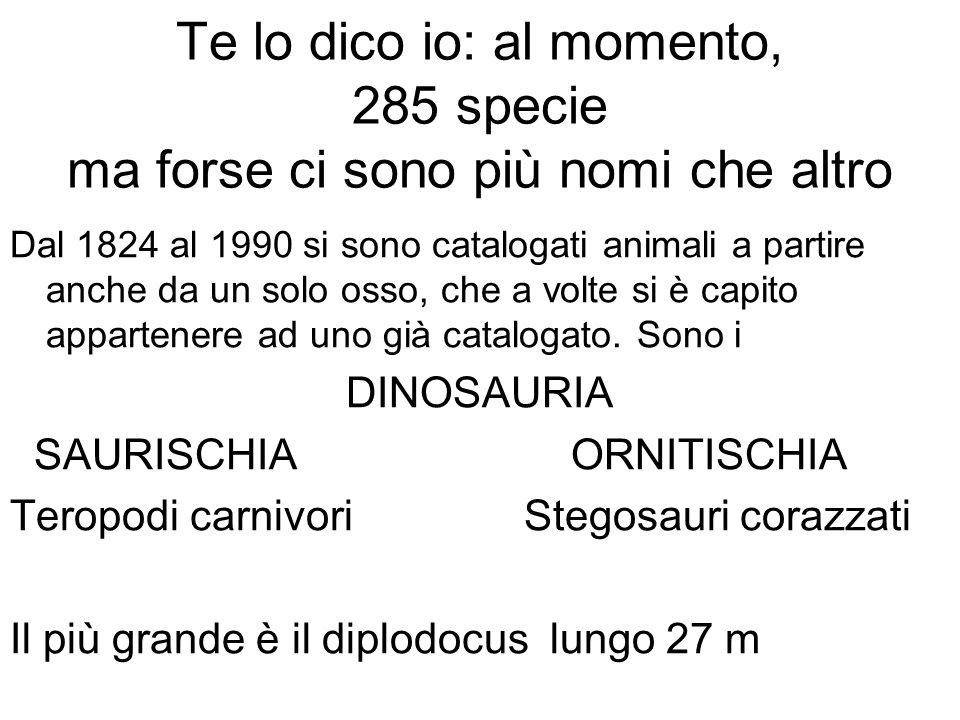 Fu William Buckland nel 1824 a capire che le ossa appartenevano ad un ignoto animale