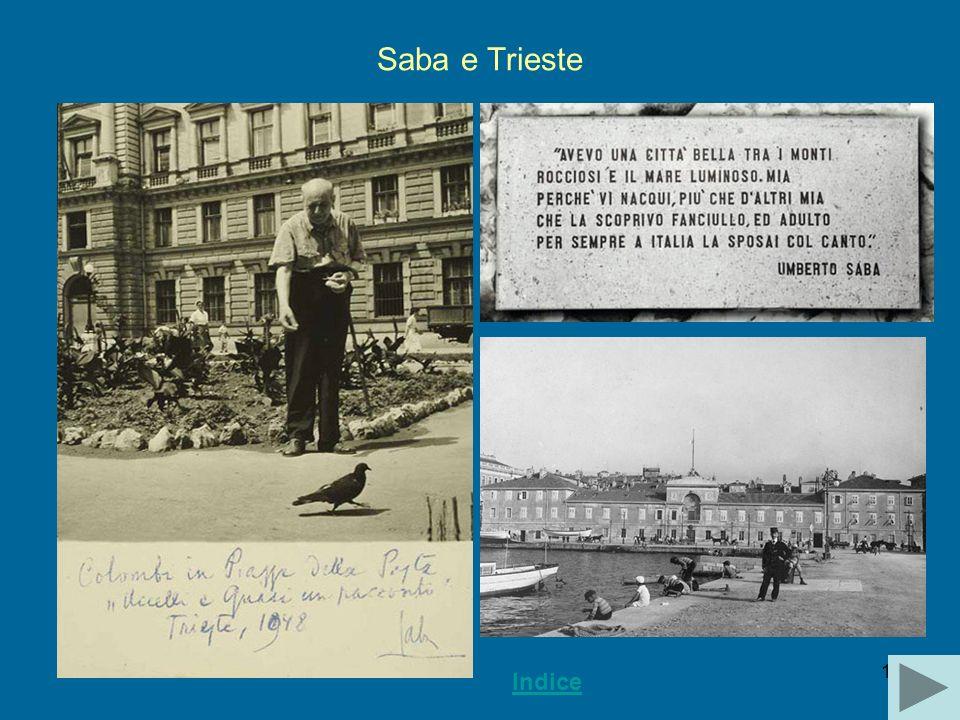 16 Saba e Trieste Indice
