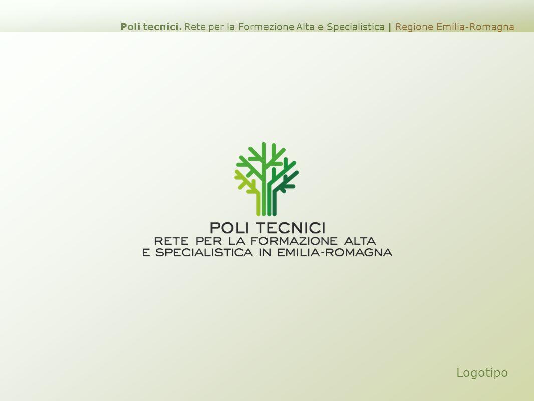 Logotipo Poli tecnici. Rete per la Formazione Alta e Specialistica | Regione Emilia-Romagna