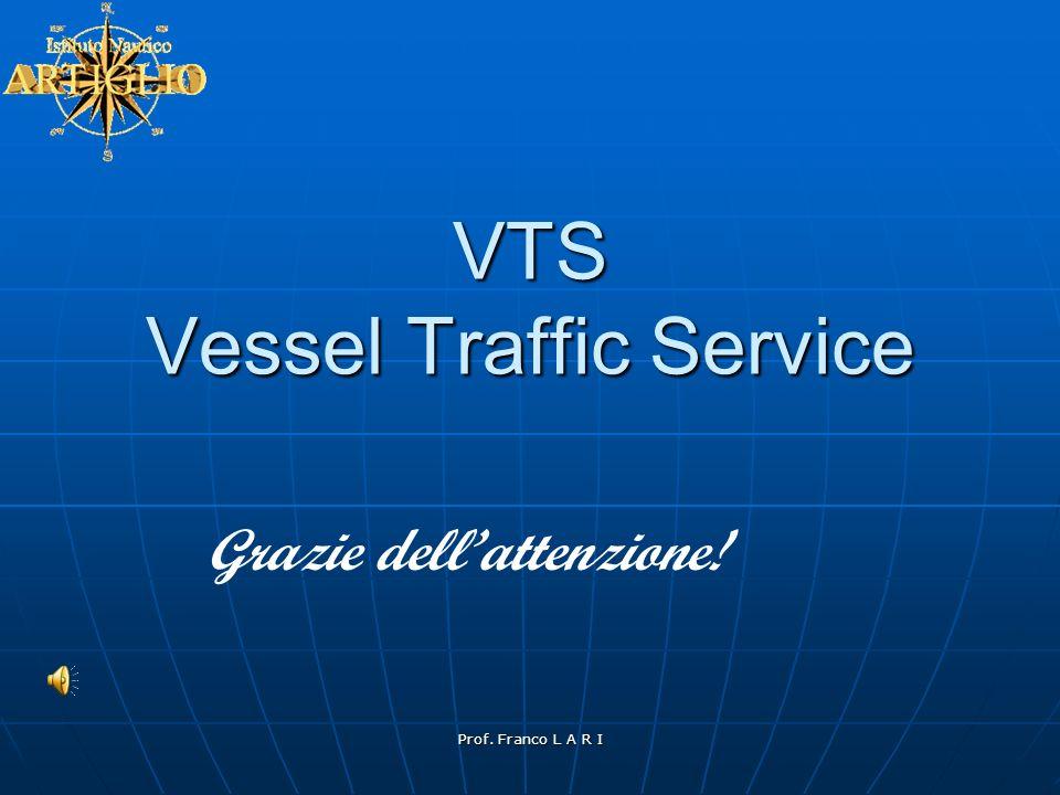 VTS Vessel Traffic Service Grazie dellattenzione!