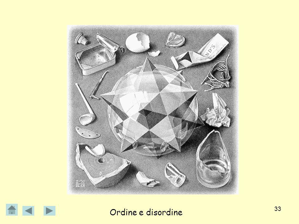 33 Ordine e disordine