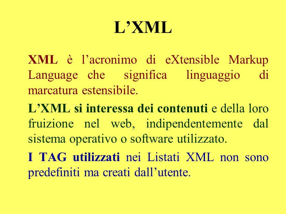 LXML XML è lacronimo di eXtensible Markup Language che significa linguaggio di marcatura estensibile. LXML si interessa dei contenuti e della loro fru