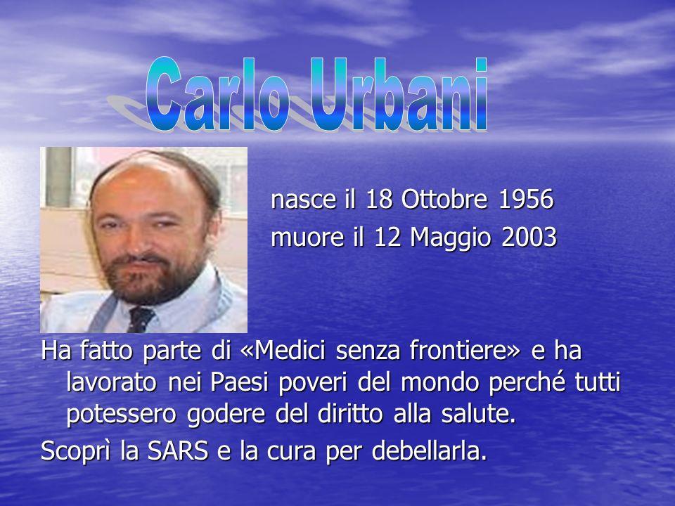 nasce il 18 Ottobre 1956 nasce il 18 Ottobre 1956 muore il 12 Maggio 2003 muore il 12 Maggio 2003 Ha fatto parte di «Medici senza frontiere» e ha lavo