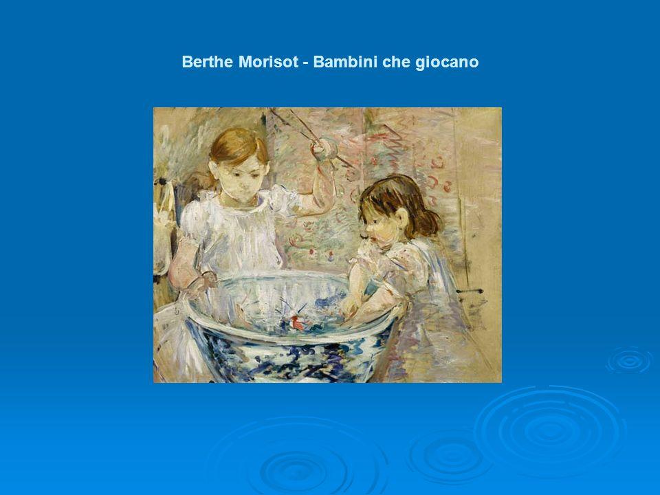 Berthe Morisot - Bambini che giocano