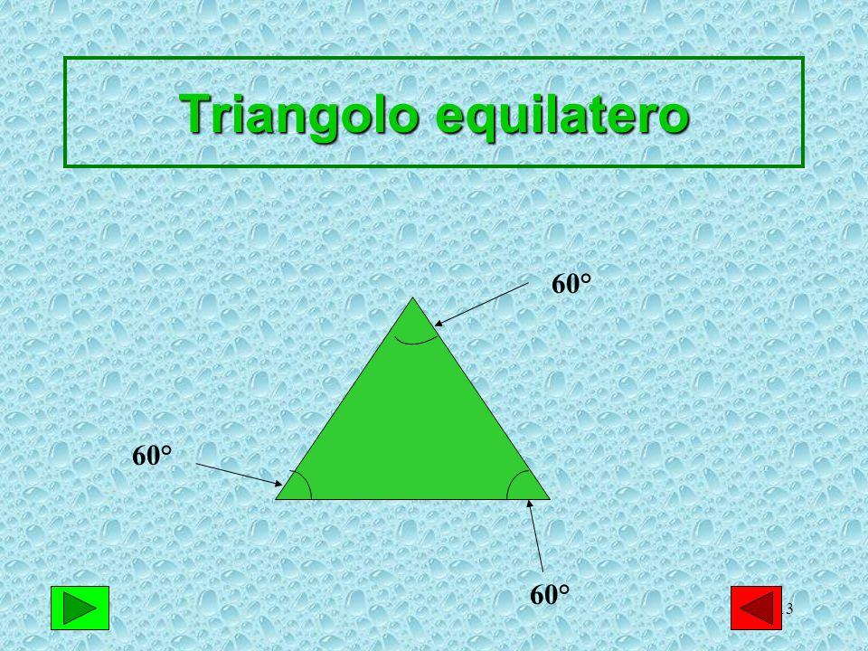 13 Triangolo equilatero 60°
