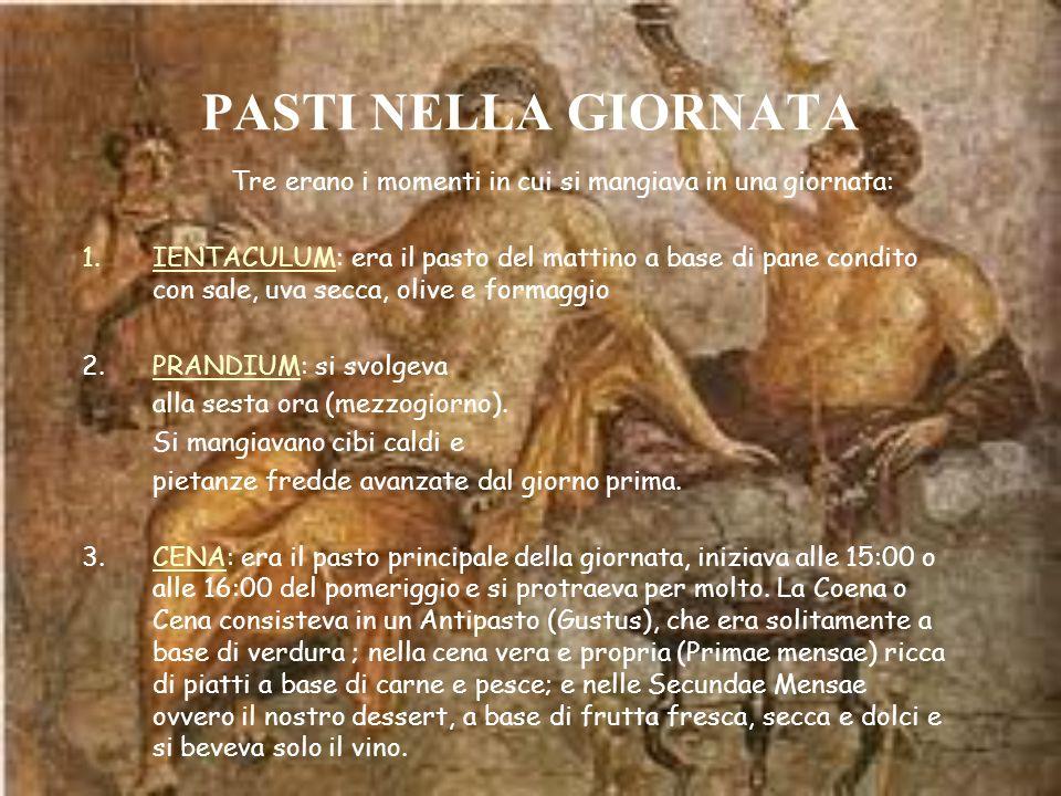 IL VASELLAME da cucina, di uso quotidiano e diffuso in tutto il mondo romano, era di ceramica comune, di modesto artigianato, e prodotto in fabbriche