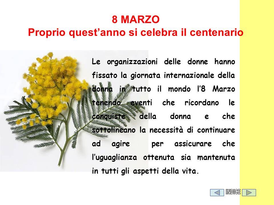 Le organizzazioni delle donne hanno fissato la giornata internazionale della donna in tutto il mondo l8 Marzo tenendo eventi che ricordano le conquist