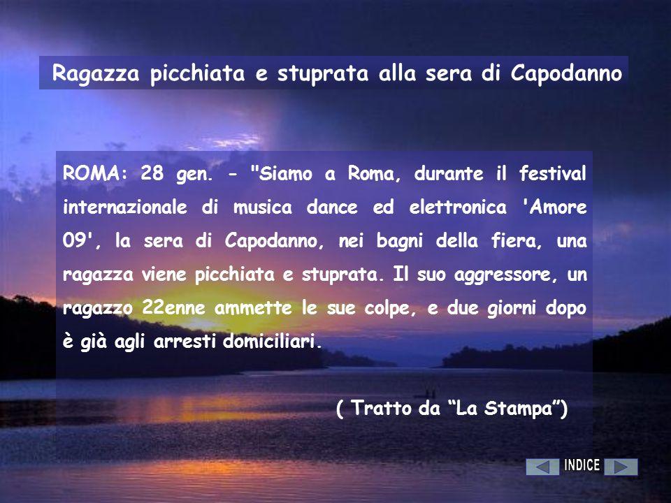 ROMA: 28 gen. -