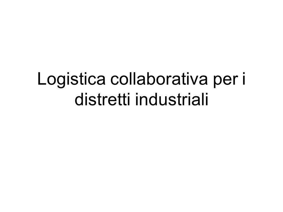 Logistica collaborativa per i distretti industriali