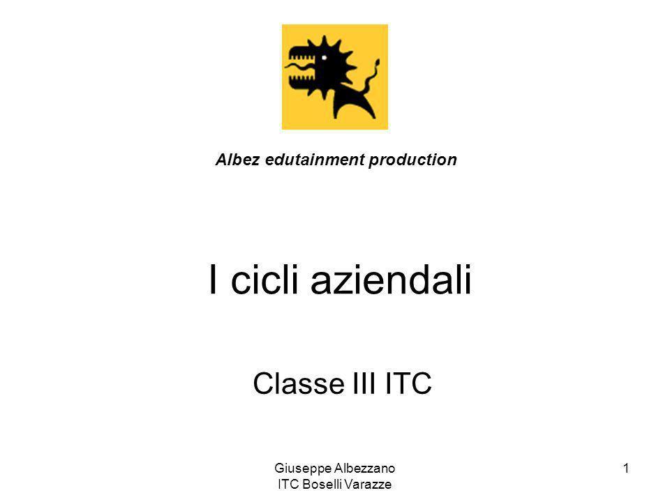 Giuseppe Albezzano ITC Boselli Varazze 1 I cicli aziendali Classe III ITC Albez edutainment production