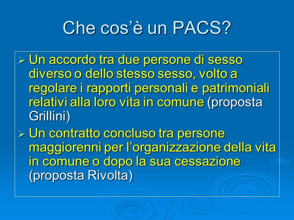 Che cosa si propone un PACS.
