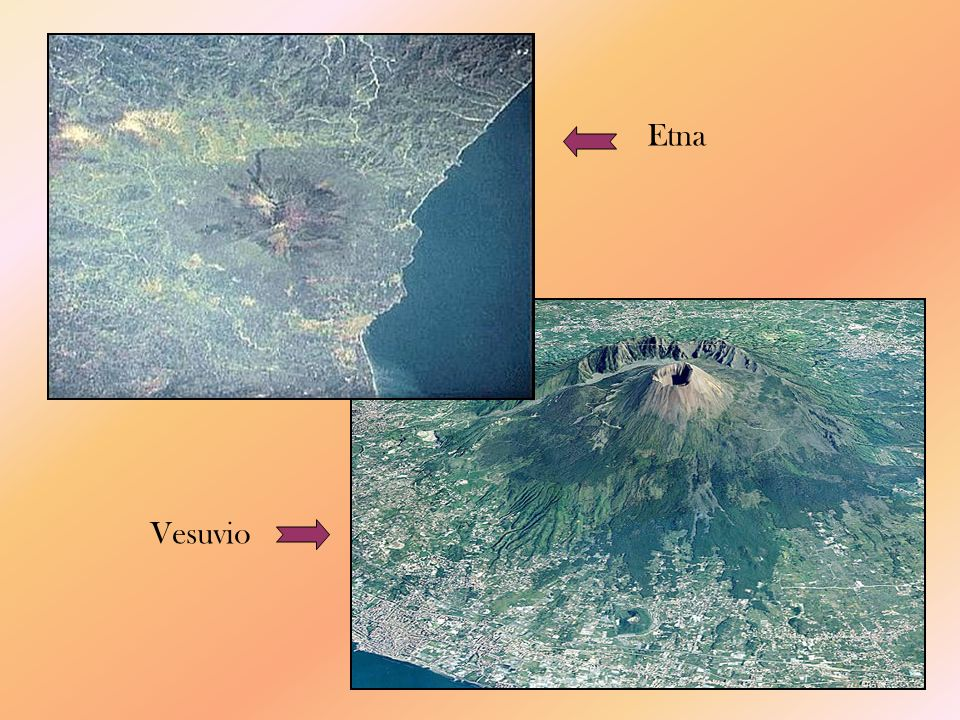 Peleano: eruzioni esplosive catastrofiche, lava molto viscosa che ostruisce tutte le vie duscita, provocando esplosioni anche ai lati e alla base delledifico vulcanico (Pelée nellisola caraibica di Martinica).