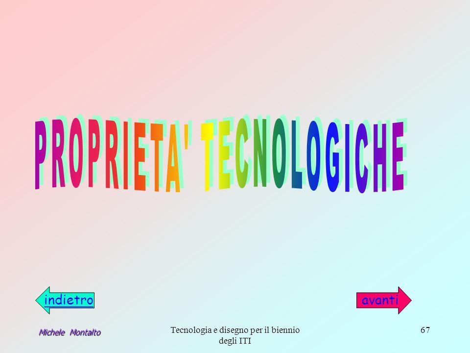 Michele Montalto Tecnologia e disegno per il biennio degli ITI 67 indietroavanti