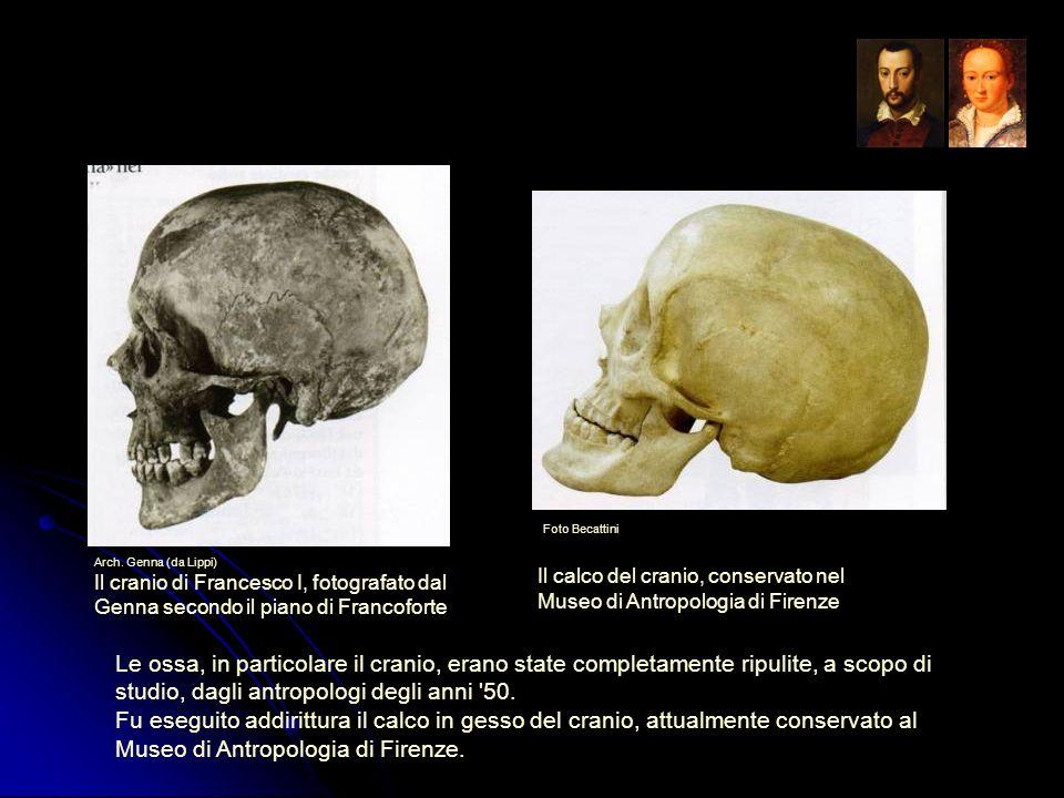 Le ossa, in particolare il cranio, erano state completamente ripulite, a scopo di studio, dagli antropologi degli anni '50. Fu eseguito addirittura il