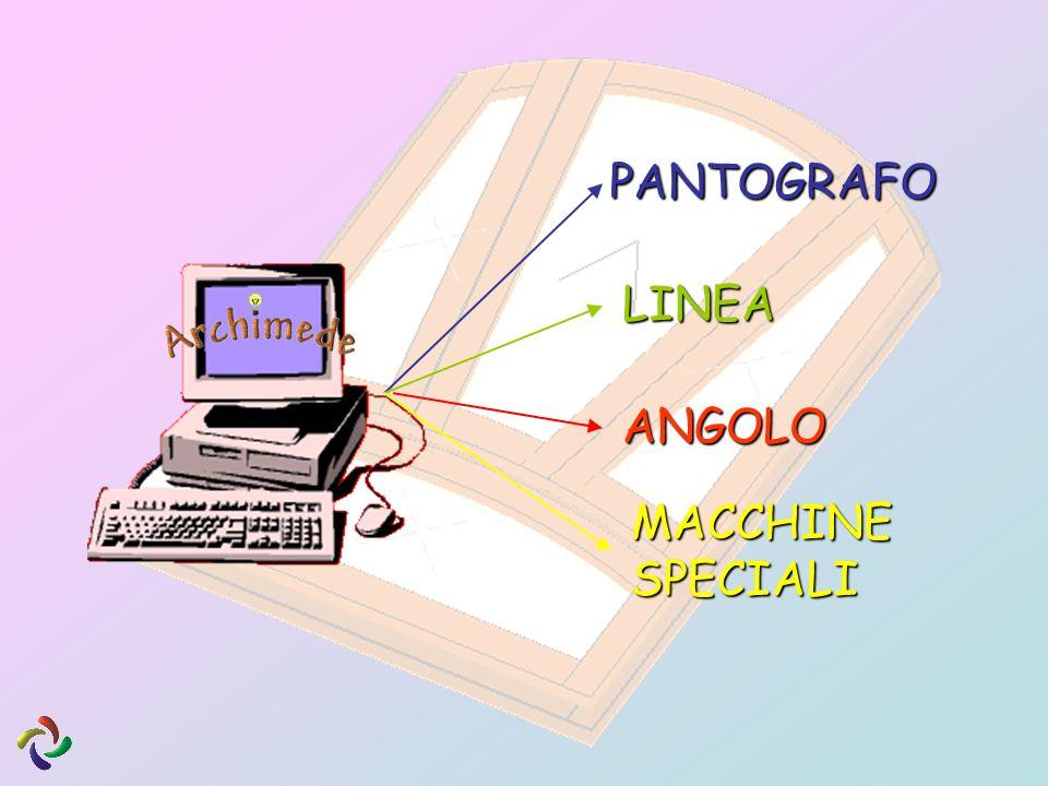 PANTOGRAFO LINEA ANGOLO MACCHINE SPECIALI