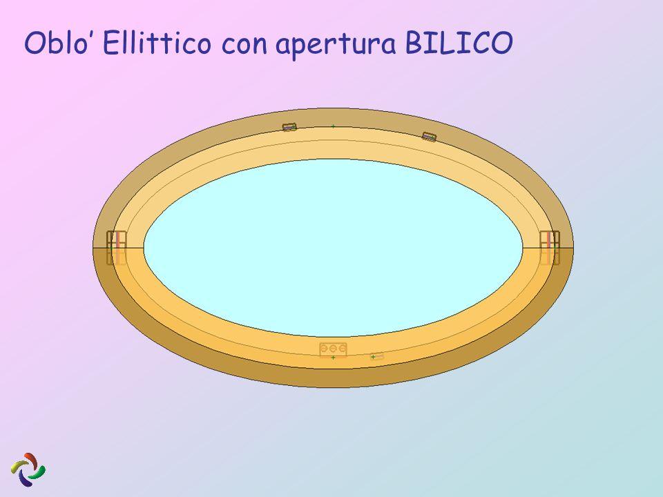 Oblo Ellittico con apertura BILICO