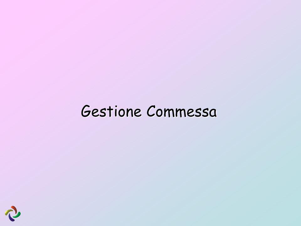 Gestione Commessa