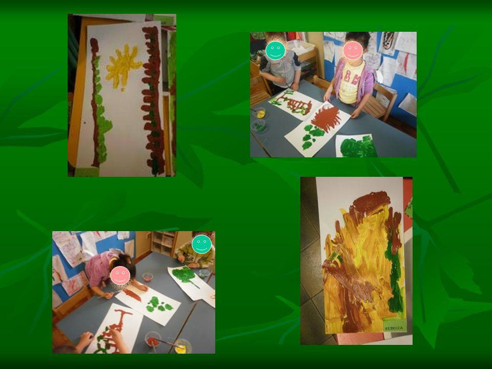 Sesta fase: IL DOMINO DEI COLORI Mettiamo, sui tavoli della sezione, pennarelli suddivisi per colore: rosso, marrone, verde, giallo e blu e pezzi di legno di forma romboidale.