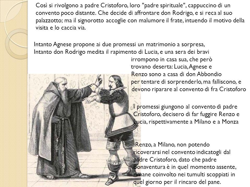 Così si rivolgono a padre Cristoforo, loro
