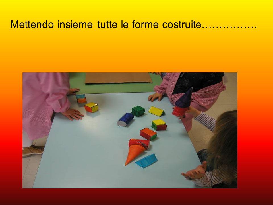 Mettendo insieme tutte le forme costruite…………….