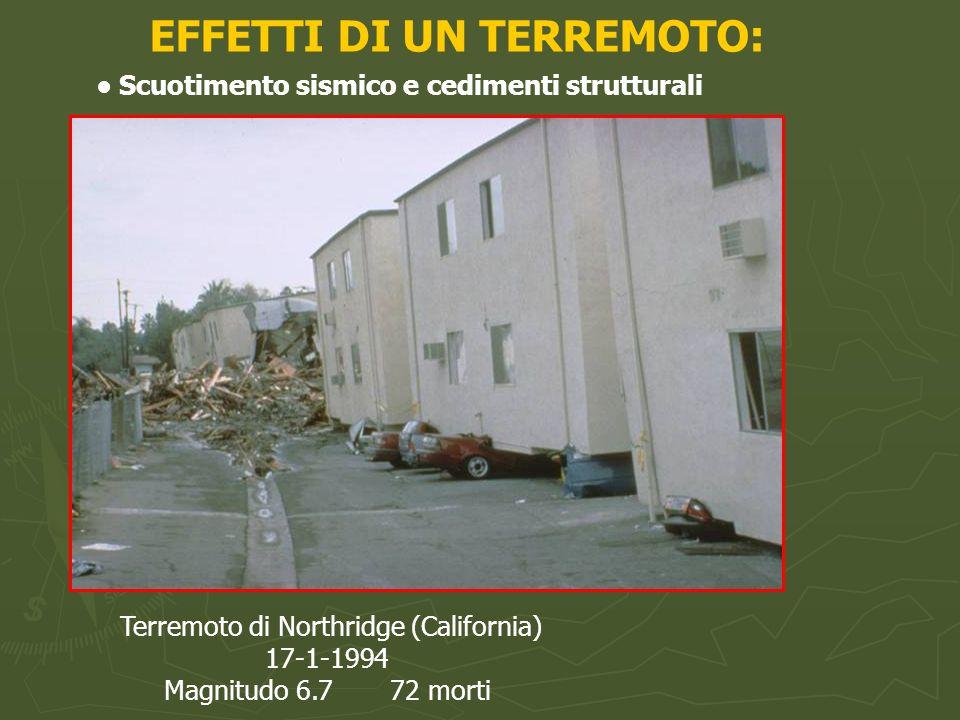 Terremoto di Loma Prieta (California) 17-10-1989 Magnitudo 6.9 63 morti