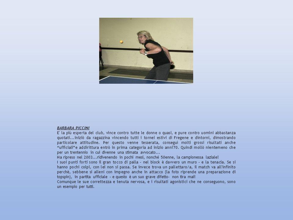 FRANCESCO CUTRUZZULA Esperto di informatica classe 72, ha praticato altri sports che gli hanno conferito mentalità e comportamento in campo da lottatore, per cui tiene duro ed è anche self-controlled.