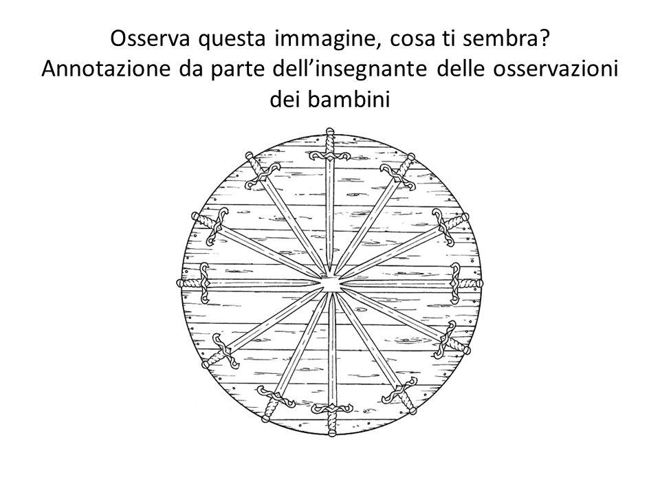Linsegnante legge gli indovinelli per la scuola dellinfanzia e i bambini inseriscono nello spazio il disegno adeguato.