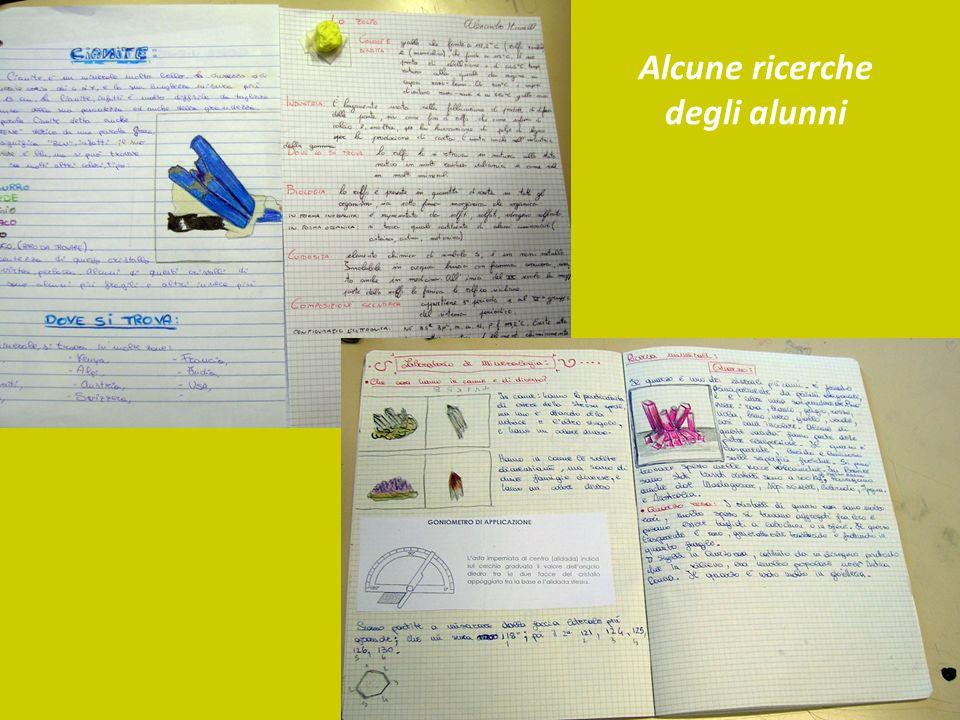 Alcune ricerche degli alunni