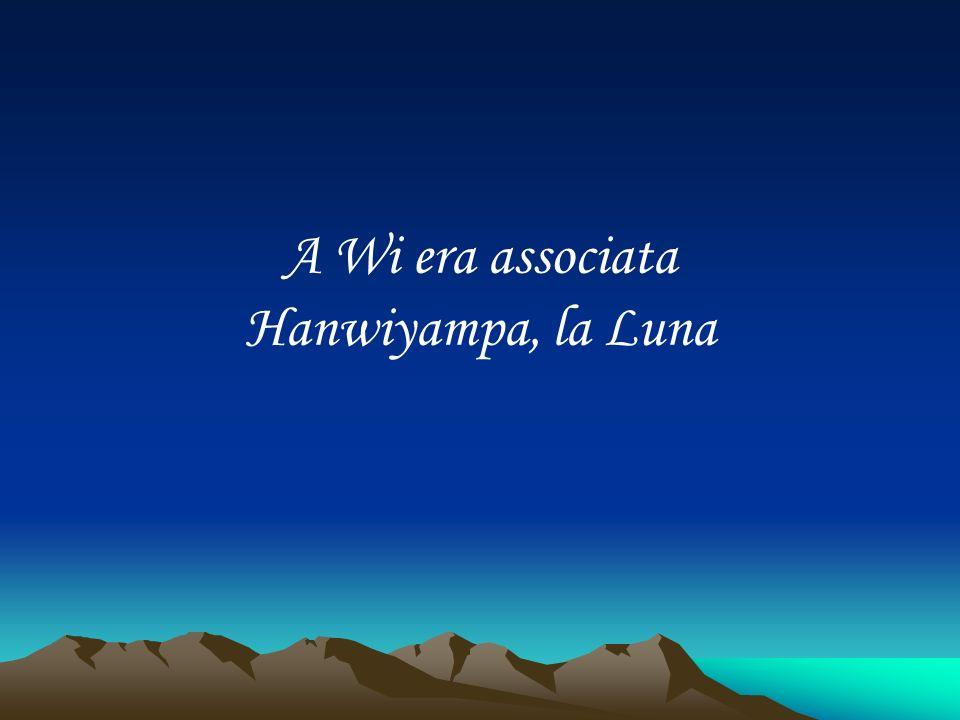 A Wi era associata Hanwiyampa, la Luna