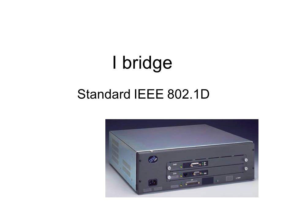 Cosa sono i bridge Il bridge è un dispositivo che permette la connessione tra due reti Lan che operano a livello di 802.x Può essere usato per diversi motivi Per collegare Lan con tipologie diverse ( ad es.