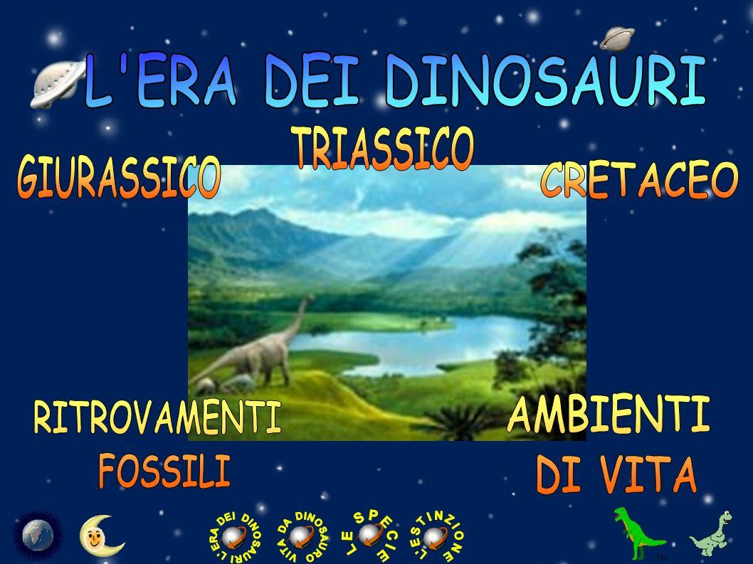 LERA DEI DINOSAURI NellEra Mesozoica, la cosiddetta età dei dinosauri, la Terra era molto diversa da oggi.
