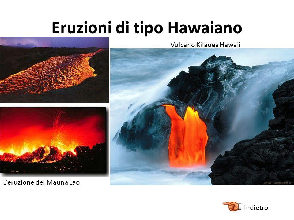 Eruzioni di tipo Hawaiano Vulcano Kilauea Hawaii Leruzione del Mauna Lao indietro