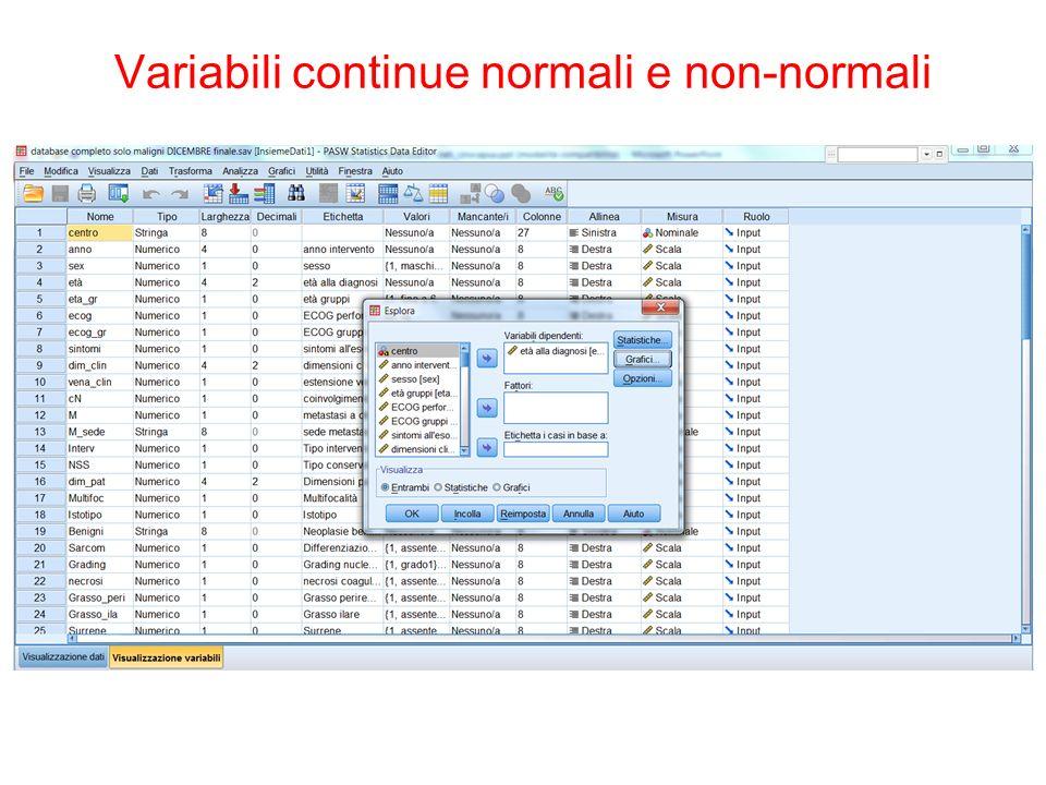 The Platinum Journal Variabili categoriche