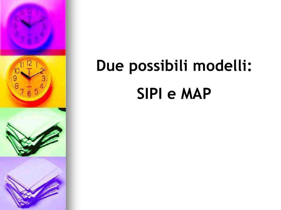 Due possibili modelli: SIPI e MAP