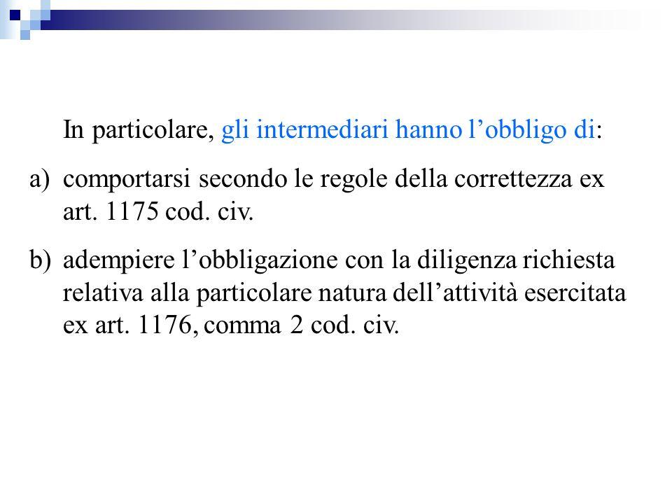 RICEZIONE E TRASMISSIONE ORDINI (ART.